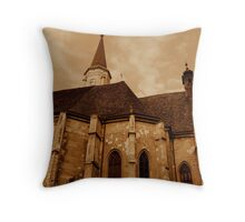 Saint Michael church Throw Pillow