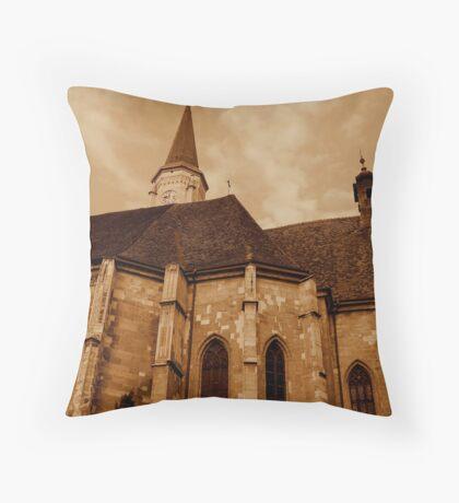 Saint Michael church Throw Pillow