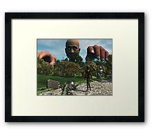 Odd Oz Framed Print