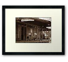 Manchester Feedmill Framed Print