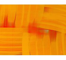 Interlaced Orange Photographic Print