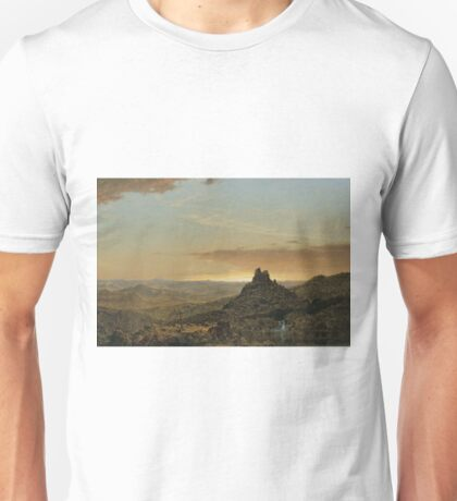 Frederic Edwin Church - Cross In The Wilderness Unisex T-Shirt