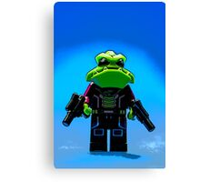 Galactic Gangster Canvas Print