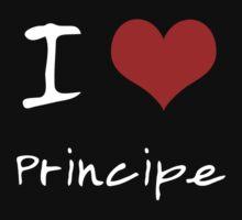I love Heart Principe Kids Tee