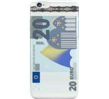 20 Euro Note Bill iPhone Case/Skin