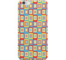 Primary Retro Pattern iPhone Case/Skin