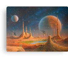 Welcome to my world Canvas Print