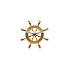 Nautical Wheel by SandraWidner