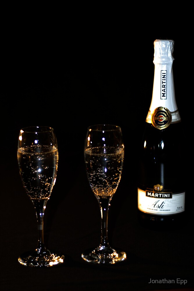 Champagne for two by Jonathan Epp