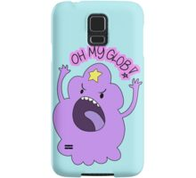 "Adventure Time - Lumpy Space Princess ""Oh My Glob!"" Samsung Galaxy Case/Skin"