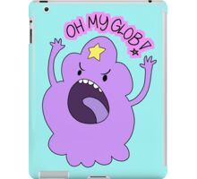 "Adventure Time - Lumpy Space Princess ""Oh My Glob!"" iPad Case/Skin"
