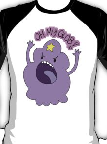 "Adventure Time - Lumpy Space Princess ""Oh My Glob!"" T-Shirt"