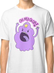 "Adventure Time - Lumpy Space Princess ""Oh My Glob!"" Classic T-Shirt"