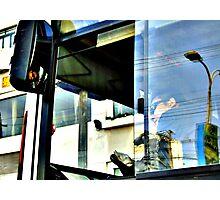 Bus Driver Photographic Print