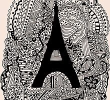 Paris: The World Was Black And White by Ruta Rudminaite