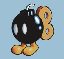 Super Mario Bros. - Bob-omb Kids Clothes