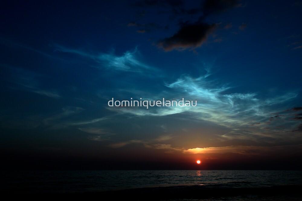 blue sunset by dominiquelandau