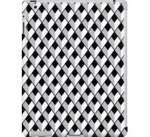 Monochrome Abstract Pattern iPad Case/Skin