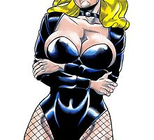 Unspecified blonde super-heroine by John Howard by John Howard