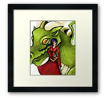Dealing with fantasy Framed Print