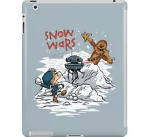 Snow Wars iPad Case/Skin