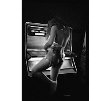 Juke Box Gal Photographic Print