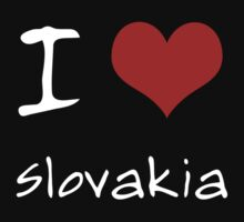 I love Heart Slovakia One Piece - Long Sleeve