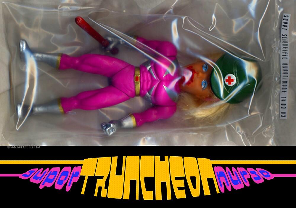 Super Truncheon Nurse. by santakaoss