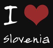 I love Heart Slovenia by Ron Wareham