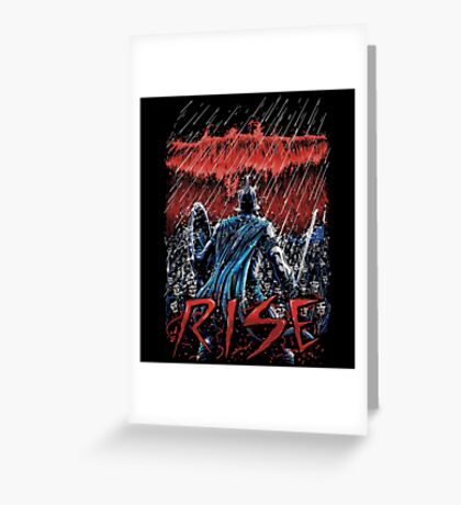 Rise Greeting Card