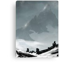 Winters Ridge Canvas Print
