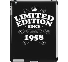 Limited edition since 1959 iPad Case/Skin