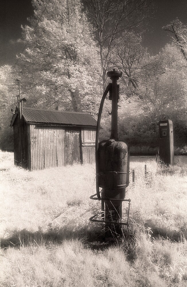 Pump Talybont 2 by Hywel Harris