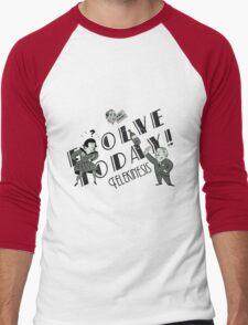 Bioshock: Telekinesis, Evolve Today! Men's Baseball ¾ T-Shirt