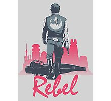 Rebel (light version) Photographic Print