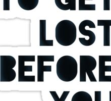 Lost and Found Sticker