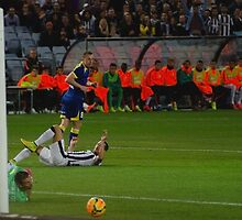 Close Call for Juventus by luc66
