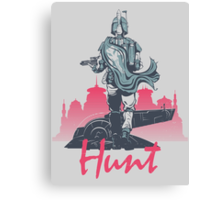 Hunt (light version) Canvas Print