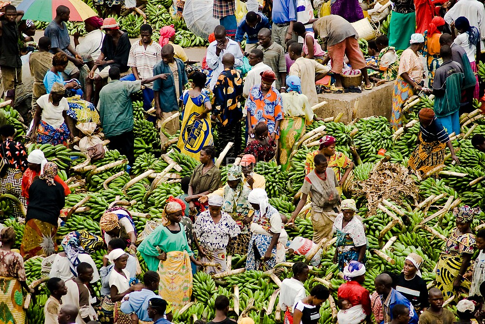 City Market, Burundi by Bryn