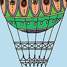 Hot Air Balloon by Ruta Rudminaite
