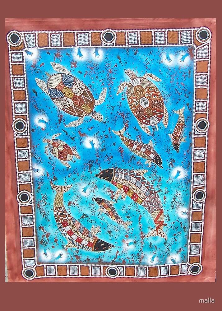 sea creatures by malla