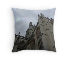 The Abbey Church of Saint Peter Throw Pillow