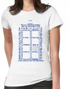 Tardis  - T-shirt Womens Fitted T-Shirt