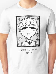 plant boy wants to be a plant T-Shirt