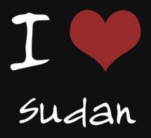 I love Heart Sudan One Piece - Long Sleeve