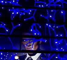 A Man behind Bars by Chris Clark