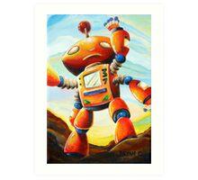 Randall's Robot Art Print