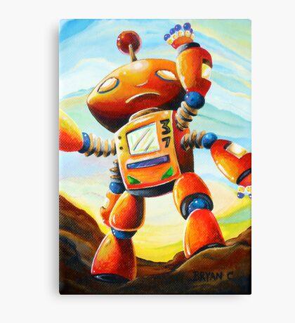 Randall's Robot Canvas Print