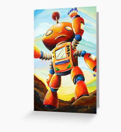Randall's Robot Greeting Card