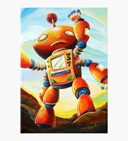 Randall's Robot Photographic Print